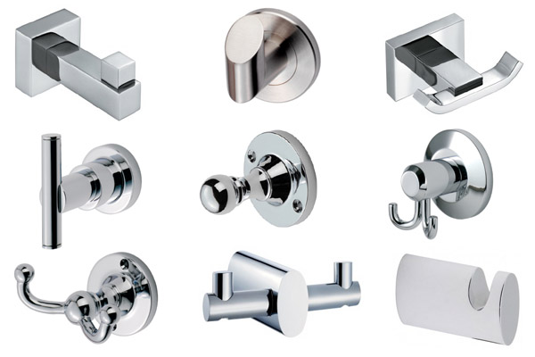Bathroom Hooks chrome bathroom hooks uk - best bathroom 2017